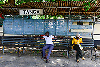 TANZANIA Tanga, old railway station from german colonial time