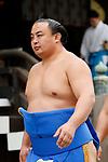 Sokokurai, <br /> APRIL 17, 2017 - Sumo : Yasukuni Shrine Honozumo is a ceremonial annual sumo tournament held in the precincts of the Yasukuni Shrine in Tokyo, Japan. (Photo by Yohei Osada/AFLO SPORT)
