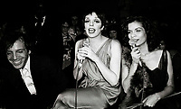 Rubell Minelli Jagger6877.JPG<br /> New York, NY 1978 FILE PHOTO<br /> Steve Rubell Liza Minelli Bianca Jagger<br /> Studio 54<br /> Digital photo by Adam Scull-PHOTOlink.net<br /> ONE TIME REPRODUCTION RIGHTS ONLY<br /> NO WEBSITE USE WITHOUT AGREEMENT<br /> 718-487-4334-OFFICE  718-374-3733-FAX