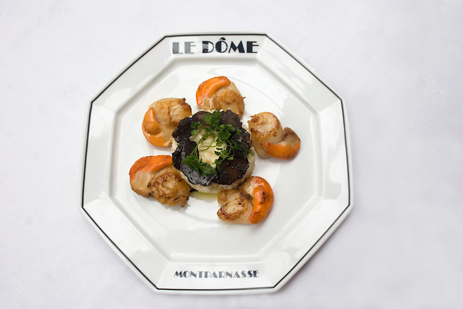 Entree, Le Dome Restaurant, Paris, France, Europe