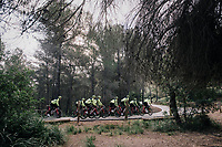 Team Trek-Segafredo men's team<br /> training camp<br /> Mallorca, january 2019<br /> <br /> ©kramon