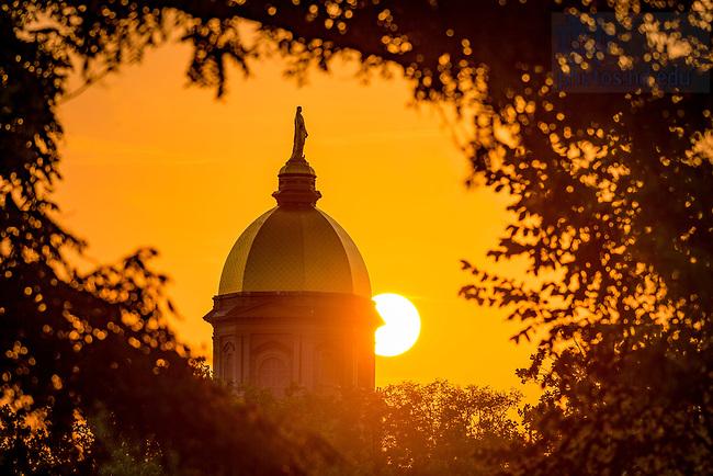August 3, 2017; Sunrise (Photo by Matt Cashore/University of Notre Dame)