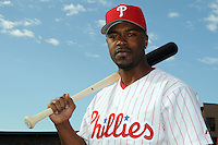 Feb 20, 2009; Clearwater, FL, USA; The Philadelphia Phillies infielder Jimmy Rollins (11) during photoday at Bright House Field. Mandatory Credit: Tomasso De Rosa/ Four Seam Images