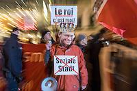 2017/01/16 Berlin | Protest gegen Bürgermeister Müller wegen Rücktritt von Andrej Holm