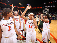 UVa women's basketball player Britnee Milner