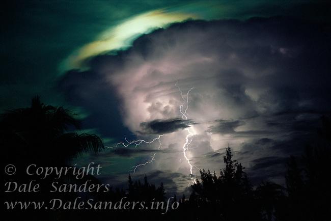 Lightning Storm, <br /> Grand Cayman Island,<br /> British West Indies