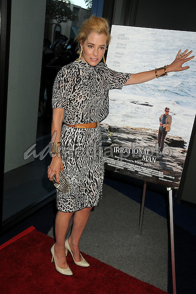 """9 July 2015 - Beverly Hills, California - Parker Posey. """"Irrational Man"""" Los Angeles Premiere held at the WGA Theatre. Photo Credit: Byron Purvis/AdMedia"""