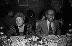 RUTH RAAB E ROBERTO POLO<br /> FESTA DELLO STILISTA MIGUEL CRUZ A LA TAMPA MILANO 1987