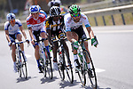 Luis Mas Bonet (ESP) Caja Rural-RGA Seguros leads the breakaway group during Stage 2 of the 2015 Presidential Tour of Turkey running 182km from Alanya to Antalya. 27th April 2015.<br /> Photo: Tour of Turkey/Stiehl Photography/Mario Stiehl/www.newsfile.ie