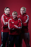 Welsh Amateur Female Boxers.Becky Price, Lynsey Holdaway & Lauren Price.21.04.12.©Steve Pope