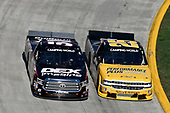 Dalton Sargeant, GMS Racing, Chevrolet Silverado Performance Plus Motor Oil, Harrison Burton, Kyle Busch Motorsports, Toyota Tundra DEX Imaging