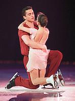 Ekaterina Gordeeva and Sergei Grinkov of Russia skate during an ice show in Ottawa, Canada. Photo copyright Scott Grant