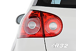 Tail light close up detail view of a 2008 Volkswagen r32