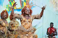 """Village (et famille) des """"Mbeng N'tam"""" du Gabon"""