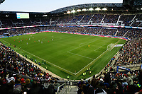 HARRISON, NJ - MARCH 08: Red Bull Arena during a game between Spain and USWNT at Red Bull Arena on March 08, 2020 in Harrison, New Jersey.