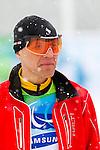 Alexei Novikov, Vancouver 2010 - Para Nordic Skiing // Ski paranordique.<br /> Alexei Novikov competes in Para Biathlon // Alexei Novikov participe en parabiathlon. 13/03/2010.