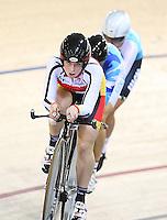 Southlands Mikayla Smith  at the BikeNZ Elite & U19 Track National Championships, Avantidrome, Home of Cycling, Cambridge, New Zealand, Sunday, March 16, 2014.  Photo: Dianne Manson / photosport.co.nz
