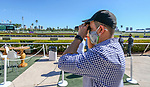 January 23, 2021: Scenes from during Pegasus World Cup Invitational Day at Gulfstream Park in Hallandale Beach, Florida. Sam Navarro/Eclipse Sportswire/CSM