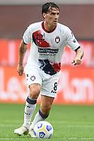 Luca Cigarini <br /> Serie A football match between Genoa CFC and FC Crotone at Marassi Stadium in Genova (Italy), September 20th, 2020. Photo Image Sport / Insidefoto