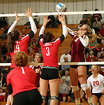 Rapid City Central at Roosevelt Volleyball