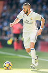 Karim Benzema of Real Madrid in action during their La Liga match between Real Madrid and Granada CF at the Santiago Bernabeu Stadium on 07 January 2017 in Madrid, Spain. Photo by Diego Gonzalez Souto / Power Sport Images