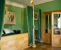 Schloss Charlottenhof,  Park Sanssouci, Potsdam, Germany  (1826-29 ) - The Crown Prince's bedroom.