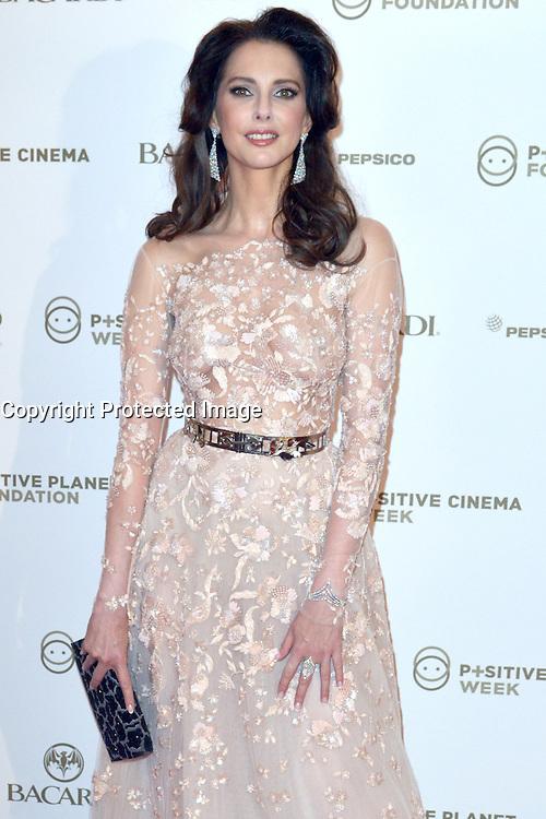 18 mai 2016 Cannes France Hotel Martinez Positive Cinema Day avec Frederique Bel Actress