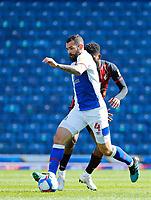 5th April 2021; Ewood Park, Blackburn, Lancashire, England; English Football League Championship Football, Blackburn Rovers versus Bournemouth; Bradley Johnson of Blackburn Rovers