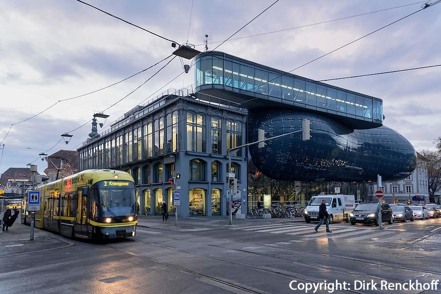 Kunsthaus in Graz, Steiermark, Österreich<br /> Galllery Kunsthaus, Graz, Styria, Austria