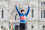 Lorena Wiebes (NED) Team Sunweb 2nd on the stage and 3rd overall at the end of Stage 3 of the CERATIZIT Challenge by La Vuelta 2020, running 98.6km around the streets of Madrid, Spain. 8th November 2020.<br /> Picture: Antonio Baixauli López/BaixauliStudio | Cyclefile<br /> <br /> All photos usage must carry mandatory copyright credit (© Cyclefile | Antonio Baixauli López/BaixauliStudio)