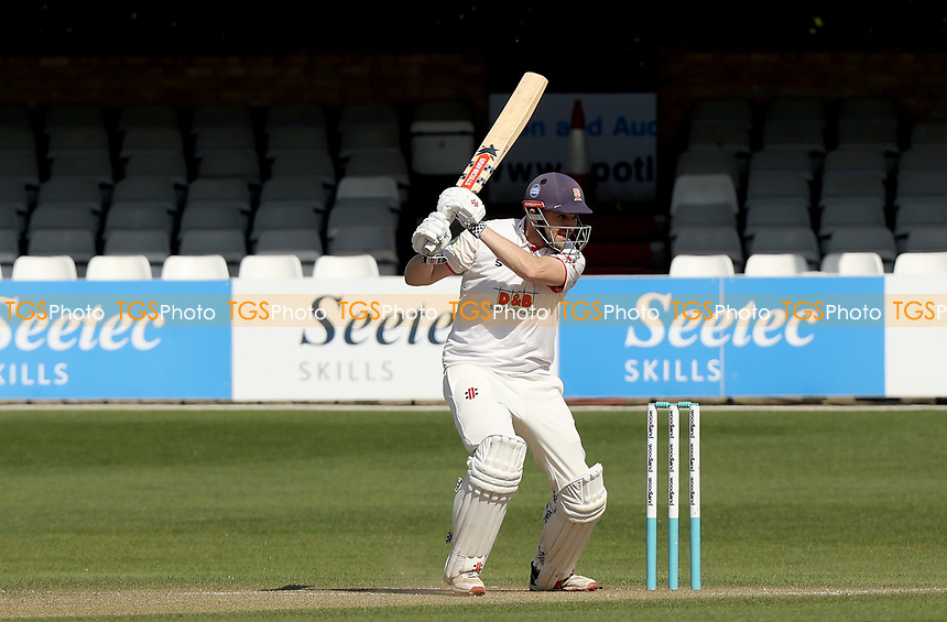 Nick Browne of Essex in batting action during Essex CCC vs Kent CCC, Friendly Match Cricket at The Cloudfm County Ground on 30th March 2021