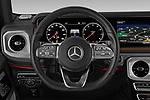 Car pictures of steering wheel view of a 2019 Mercedes Benz G-Class G-550 5 Door SUV Steering Wheel