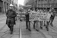 - Milano, sciopero generale autoconvocato dai Consigli di Fabbrica (febbraio 1984)<br /> <br /> - Milan, general strike called by the Factory Councils (February 1984)