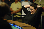 Vanessa Selbst agonizes after a bad beat vs. Shannon Shorr