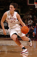 1 January 2006: Jillian Harmon during Stanford's 91-68 win over the UCLA Bruins at Maples Pavilion in Stanford, CA.