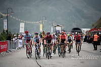 the grupetto 2 km from the finish in Val thorens<br /> <br /> shortened stage 20: Albertville to Val Thorens(59km in stead of the original 130km due to landslides/bad weather)<br /> 106th Tour de France 2019 (2.UWT)<br /> <br /> ©kramon