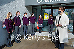 Minister for Education, Norma Foley TD paid a visit to students returning to Colaiste Gleann Lí on Monday.