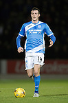 St Johnstone v Rangers…28.12.16     McDiarmid Park    SPFL<br />Joe Shaughnessy<br />Picture by Graeme Hart.<br />Copyright Perthshire Picture Agency<br />Tel: 01738 623350  Mobile: 07990 594431