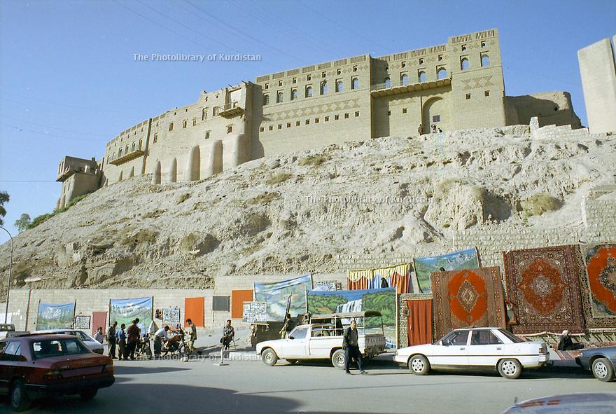 Irak 2000  La citadelle d'Erbil     Iraq 2000  The citadel of Erbil