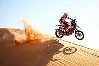 5th January 2021; Dakar Rally stage 3; 27 Rodrigues Joaquim (prt), Hero, Hero Motorsports Team Rally, Motul, Moto, Bike, action during the 3rd stage of the Dakar 2021 between Wadi Al Dawasir and Wadi Al Dawasir, in Saudi Arabia on January 5, 2021