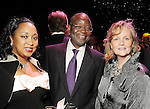 """From left: Anne and Sola Oyinlola with Aileen Reilly at the Theatre Under the Stars """"Night of a Thousand Stars"""" benefitting TUTS at the Hobby Center Friday April 23,2010.. (Dave Rossman Photo)"""