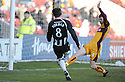 07/02/2009  Copyright Pic: James Stewart.File Name : sct_jspa02_motherwell_v_stmirren.ANDY DORMAN SCORES ST MIRREN'S FIRST.James Stewart Photo Agency 19 Carronlea Drive, Falkirk. FK2 8DN      Vat Reg No. 607 6932 25.Studio      : +44 (0)1324 611191 .Mobile      : +44 (0)7721 416997.E-mail  :  jim@jspa.co.uk.If you require further information then contact Jim Stewart on any of the numbers above.........