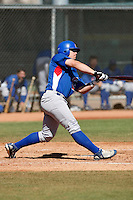 Dylan Johnston - Chicago Cubs - 2009 spring training.Photo by:  Bill Mitchell/Four Seam Images