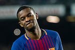 Nelson Cabral Semedo of FC Barcelona reacts during the La Liga 2017-18 match between FC Barcelona and Girona FC at Camp Nou on 24 February 2018 in Barcelona, Spain. Photo by Vicens Gimenez / Power Sport Images