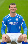 St Johnstone FC...Season 2011-12.Mark Durnan.Picture by Graeme Hart..Copyright Perthshire Picture Agency.Tel: 01738 623350  Mobile: 07990 594431