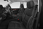 Front seat view of 2017 Cadillac Escalade-ESV Luxury 5 Door SUV Front Seat  car photos