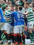 31.03.2019 Celtic v Rangers: Aggro at full time