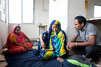 Several hundreds garment workers of the Tuba Group had been on hunger strike for three consecutive days yesterday demanding their outstanding wages and Eid bonus.  Dhaka, Bangladesh