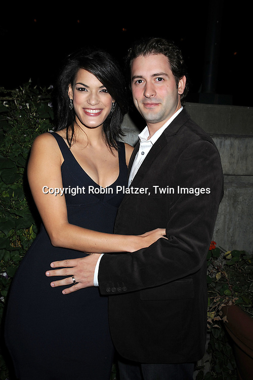 Jacqueline Hendy and husband Jeff Cureton..at The ABC Daytime Casino Event on October 23, 2008 at ..Guastavinos in New York City. ....Robin Platzer, Twin Images