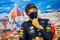13th September 2020; Mugello race track, Scarperia e San Piero, Tuscany, Italy ; Formula 1 Grand Prix of Tuscany, Race Day;  23 Alexander Albon THA, Aston Martin Red Bull Racing finshed in 3rd place
